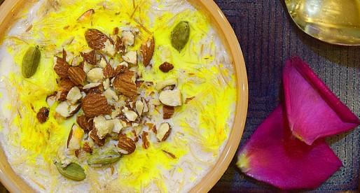 Zafrani Seviyan Kheer recipe, Saffron Vermicelli Pudding