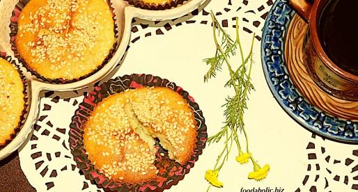 Cake Yazdi, Persian Sesame Cardamom Teacakes