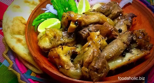 Namkeen Gosht recipe, Lamb Joint in Salt