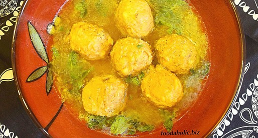 Kashmiri Gushtaba, Meatballs in Yogurt Broth