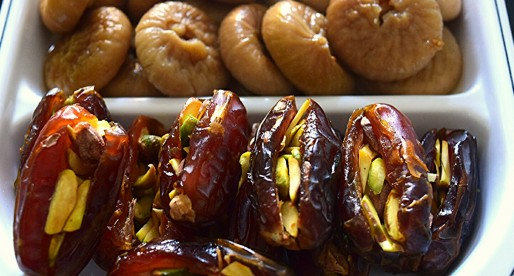 Figs in Syrup, Stuffed Dates Appetizer