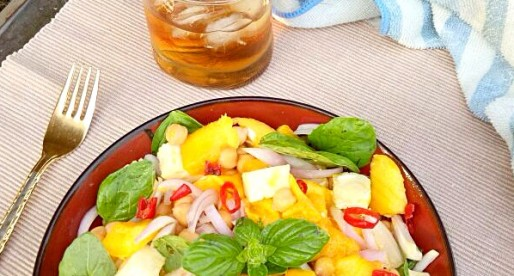 Chickpea and Mango Salad Recipe