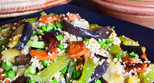 Mixed Vegetable Couscous Pilaf