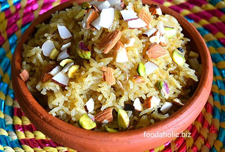 Gur Wale Chawal, Sweet Jaggery Rice