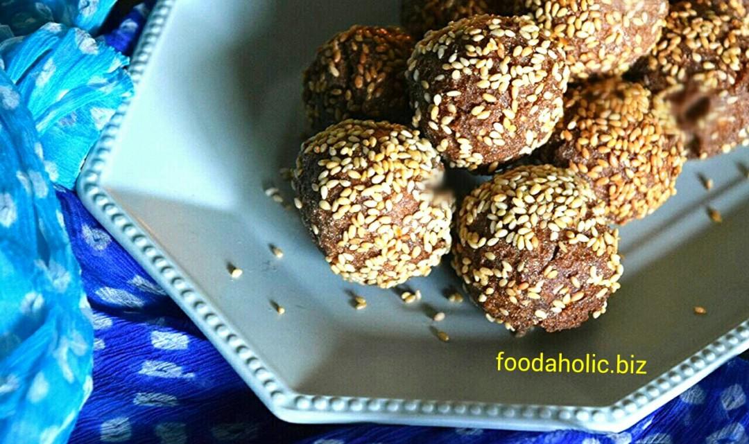 Easy Andrasay Recipe, Sesame Rice Flour Pastry
