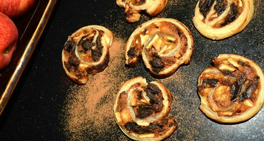 Apple & Date Pinwheel Cookies