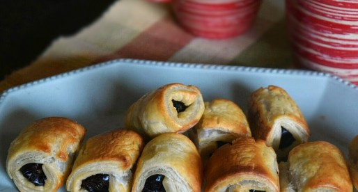 Coconut Dates Pastry Rolls