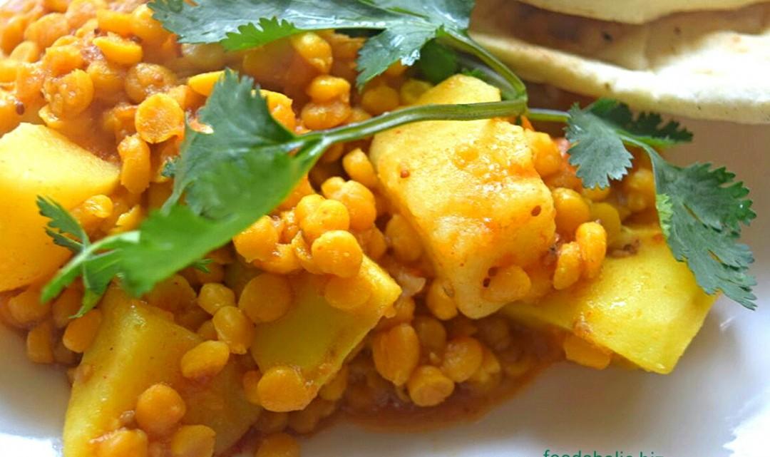 Easy Lentil Potato Curry