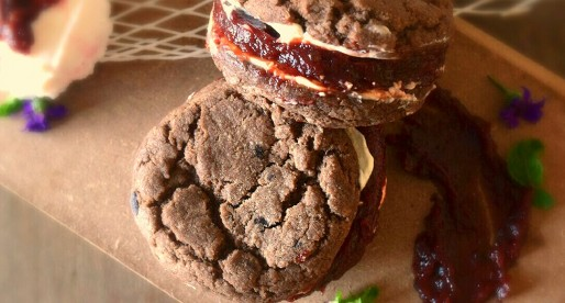 Tamarind Double Chocolate Cookie Sandwich