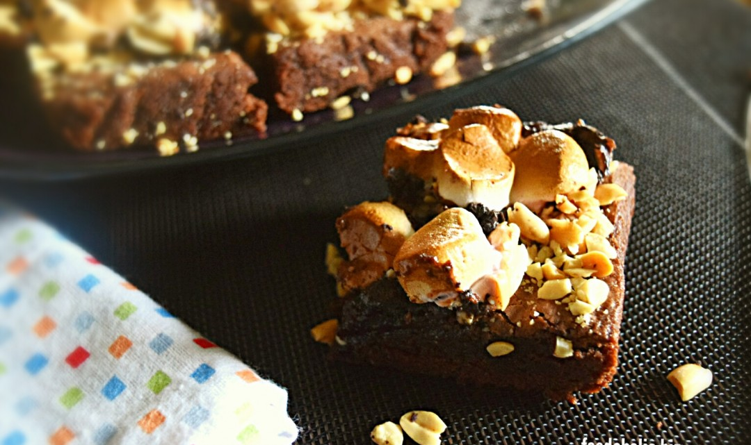 Easy Rocky Road Brownies