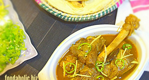 Chinioti Kunna Gosht, Braised Lamb Curry