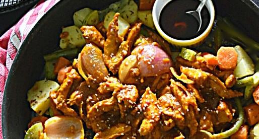 One-Pan Teriyaki Chicken & Vegetables