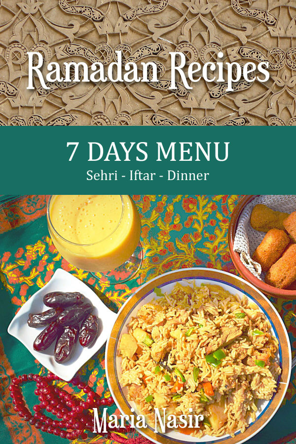 Ramadan Recipes: 7 Days Menu
